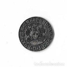 Reproducciones billetes y monedas: MONEDA FERDINANDO VALENCIE LORIGARU REPRODUCCION. Lote 121334399