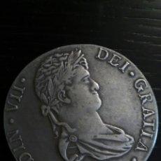 Reproducciones billetes y monedas: REPRODUCCIÓN MONEDA 1824 FERNANDO VII.. Lote 121656676
