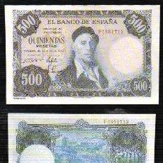 Reproducciones billetes y monedas: REPRODUCCION BILLETE. EL BANCO DE ESPAÑA. 500 PESETAS JULIO 1954. - BILL-619. Lote 121658263