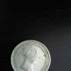 Reproducciones billetes y monedas: REPRODUCCIÓN MONEDA 1855 ISABEL LL. Lote 121888168