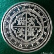 Reproducciones billetes y monedas: CINCUENTIN FELIPE IIII 1626 PLATA LEY 999. Lote 123226747