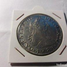 Reproducciones billetes y monedas: MONEDA REPLICA CAROLUS III DE 8 REALES. Lote 123382995