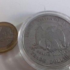 Reproducciones billetes y monedas: TRADE DOLLARS EEUU 1874. Lote 125225442