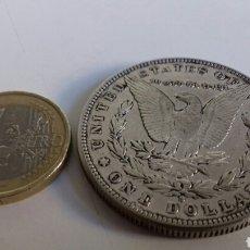 Reproducciones billetes y monedas: ONE DOLLAR EEUU 1888. Lote 125226470