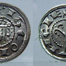 Reproducciones billetes y monedas: REPRODUCCIÓN DINERO DE JAIME I CECA VALENCIA EN PLATA DE 800 MILÉSIMAS. Lote 126220015