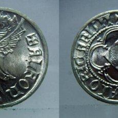 Reproducciones billetes y monedas: REPRODUCCIÓN TIMBRE ALFONSO III EL MAGNÁNIMO. CECA VALENCIA EN PLATA DE 800 MILÉSIMAS. Lote 126220239