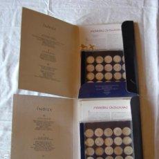 Reproducciones billetes y monedas: COLECCIÓN COMPLETA EN 2 ARXIVADORES DE MONEDAS CATALANAS Y SU HISTORIA. . Lote 126399003