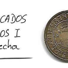 Reproducciones billetes y monedas: MONEDA DE CARLOS I 4 DUCADOS SIN FECHA REPRODUCCION . Lote 127139955