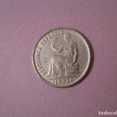 Reproducciones billetes y monedas: MONEDA REPRODUCCION. (R). 1 PESETA 1933, REPÚBLICA ESPAÑOLA.. Lote 127666539