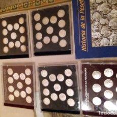 Reproducciones billetes y monedas: COLECCION MONEDAS DE PLATA. Lote 129694507