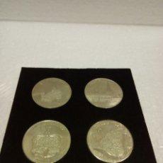 Reproducciones billetes y monedas: COLECCIÓN CONMEMORATIVA DE NIDAROSDOMEN, NORUEGA. Lote 131991158