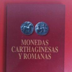 Reproducciones billetes y monedas: MONEDAS CARTHAGINESAS Y ROMANAS COLECCIÓN LA OPINION CAJAMURCIA. Lote 134075566