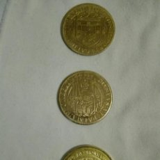 Reproducciones billetes y monedas: MONEDAS DE ESPAÑA Y PORTUGAL. Lote 135174474
