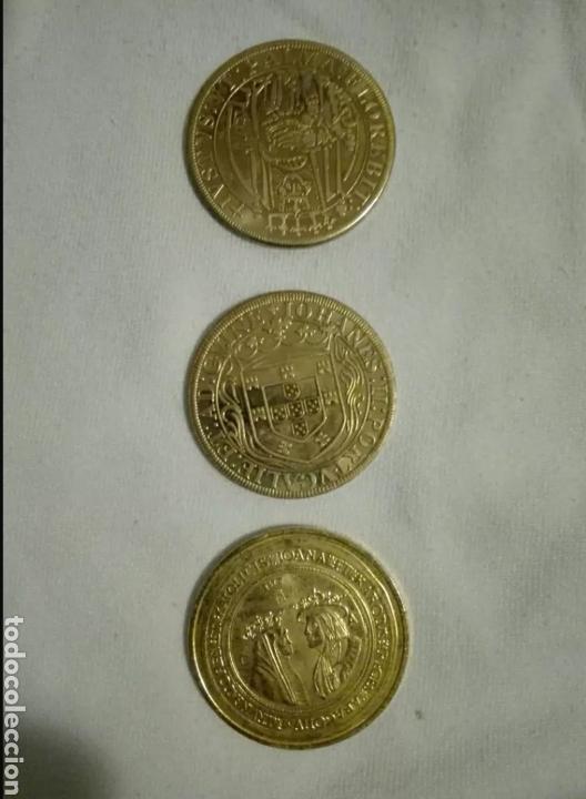Reproducciones billetes y monedas: Monedas Ducados de España y Portugal - Foto 2 - 135174474