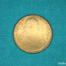 Reproducciones billetes y monedas: CARLOS IIII 1805 DOS ESCUDOS MADRID - R BONITA REPRODUCCIÓN. Lote 136165114