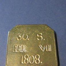 Reproducciones billetes y monedas: 30 SOUS . FERNANDO VII. 1808.REPLICA . MALLORCA.. Lote 136701610