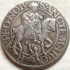 Reproducciones billetes y monedas: RÉPLICA MONEDA ALEMANIA. EMPERADOR CARLOS V. 1 THALER. 1525. Lote 137881402