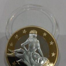 Reproducciones billetes y monedas: MONEDA SEX EUROS -KAMASUTRA-. Lote 140067558