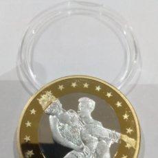 Reproducciones billetes y monedas: MONEDA SEX EUROS -KAMASUTRA-. Lote 140067694