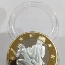 Reproducciones billetes y monedas: MONEDA SEX EUROS -KAMASUTRA-. Lote 140067950