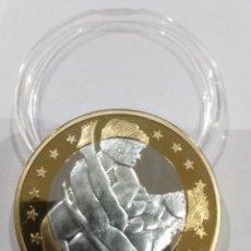 Reproducciones billetes y monedas: MONEDA SEX EUROS -KAMASUTRA-. Lote 140075722