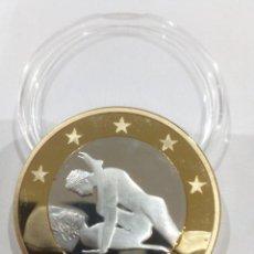 Reproducciones billetes y monedas: MONEDA SEX EUROS -KAMASUTRA-. Lote 151870873