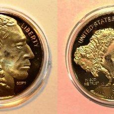 Reproducciones billetes y monedas: AMERICAN BUFFALO 50 DOLLARS 2011. (COPY). Lote 140530086