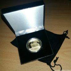 Reproducciones billetes y monedas: MONEDA TITANIC. REPRODUCCIÓN EN METAL.. Lote 140909461