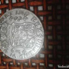 Reproducciones billetes y monedas: MONEDA FALSA 8 REALES FDO.VI. Lote 155938821