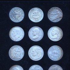 Reproducciones billetes y monedas: 12 REPLICAS DE DIFERENTES PESETAS - PUBLICADO POR LA VANGUARDIA- DE LA PESETA AL EURO. Lote 142697826