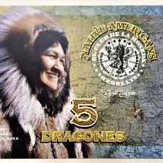 Reproducciones billetes y monedas: COLOMBIA 5 DRAGONES CLUB DE LA MONEDA 2016 UNC. Lote 144255802