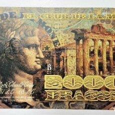 Reproducciones billetes y monedas: COLOMBIA 20000 DRAGONES CLUB DE LA MONEDA 2014 UNC. Lote 144260990