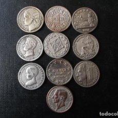 Reproducciones billetes y monedas: REPRODUCCIONES MONEDAS ESPAÑOLAS CONTEMPORANEAS . Lote 144535422