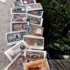 Reproducciones billetes y monedas: COLECTARJETAS BILLETES. Lote 145241444