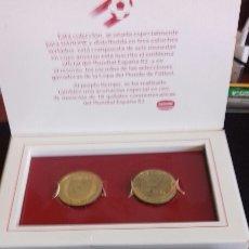 Reproducciones billetes y monedas: MONEDAS CONMEMORATIVAS DEL MUNDIAL ESPAÑA 82. Lote 145490961