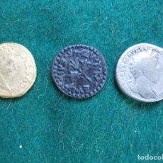 Reproducciones billetes y monedas: LOTE DE MONEDAS ROMANAS DE REPRODUCCIÓN. Lote 146202674