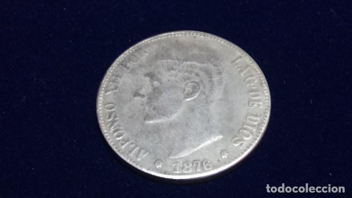 5 PESETAS 1876 - ALFONSO XII (Numismática - Reproducciones)