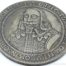 Reproducciones billetes y monedas: RÉPLICA MEDALLA THALER. 1582-1634. ALBRECHT VON WALLENSTEIN, DUCADO DE WALLENSTEIN, BOHEMIA. RARA. Lote 147565686