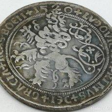 Reproducciones billetes y monedas: RÉPLICA MONEDA 1 THALER. 1520. BOHEMIA. LUDOVICUS. RARA. Lote 147565942