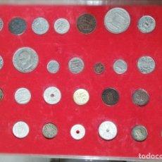 Reproducciones billetes y monedas: 30 MONEDAS HISTORIA DE LA PESETA . Lote 149925834