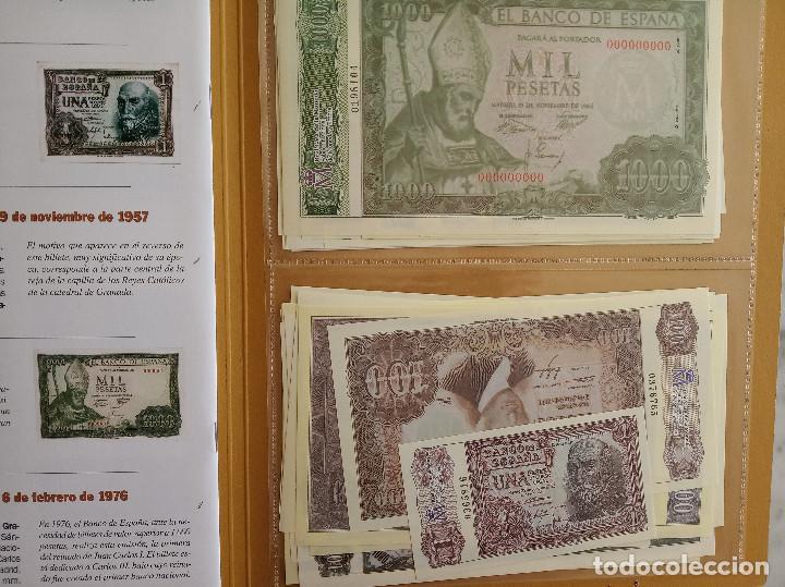 Reproducciones billetes y monedas: EL PAPEL DE LA PESETA I y II COLECCION COMPLETA DE 80 BILLETES - Foto 2 - 150648662