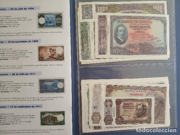 Reproducciones billetes y monedas: EL PAPEL DE LA PESETA I y II COLECCION COMPLETA DE 80 BILLETES - Foto 3 - 150648662