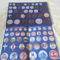 Reproducciones billetes y monedas: REPRODUCCIÓN MONEDAS Y MEDALLAS HISTÓRICAS DE GALICIA. Lote 151141786