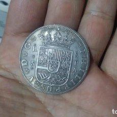 Reproducciones billetes y monedas: BELLA RÉPLICA FELIPE V 8 REALES. Lote 151623858