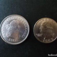 Reproducciones billetes y monedas: REPRODUCCION DOLLAR ESTADOS UNIDOS DE AMERICA SIGLOS XVI Y XVII. Lote 151689386
