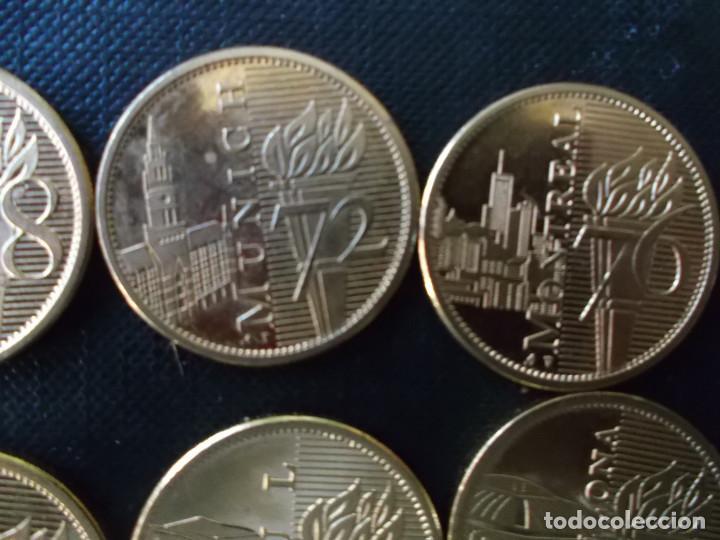 Reproducciones billetes y monedas: coleccion de medallas de diversos juegos Olympicos bañadas en oro nordico Tokyo 64 - Sidney 2000 - Foto 4 - 151693246