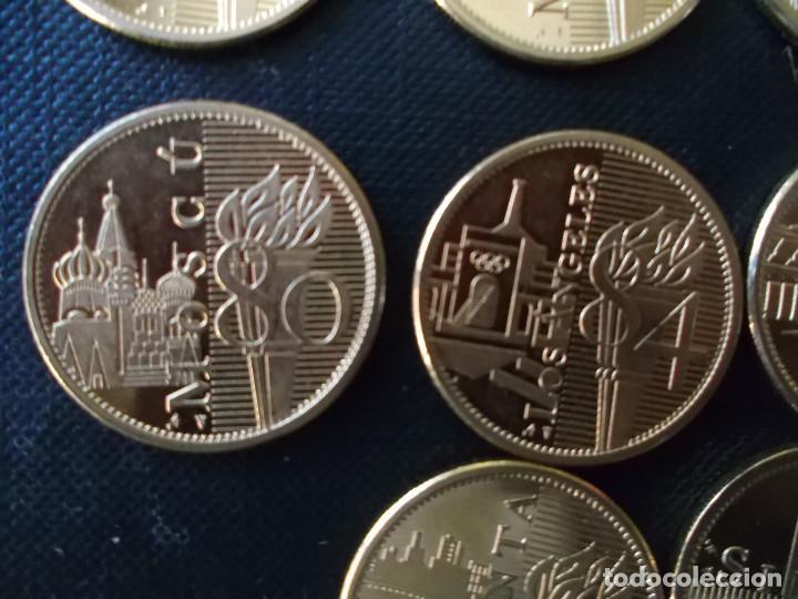 Reproducciones billetes y monedas: coleccion de medallas de diversos juegos Olympicos bañadas en oro nordico Tokyo 64 - Sidney 2000 - Foto 5 - 151693246