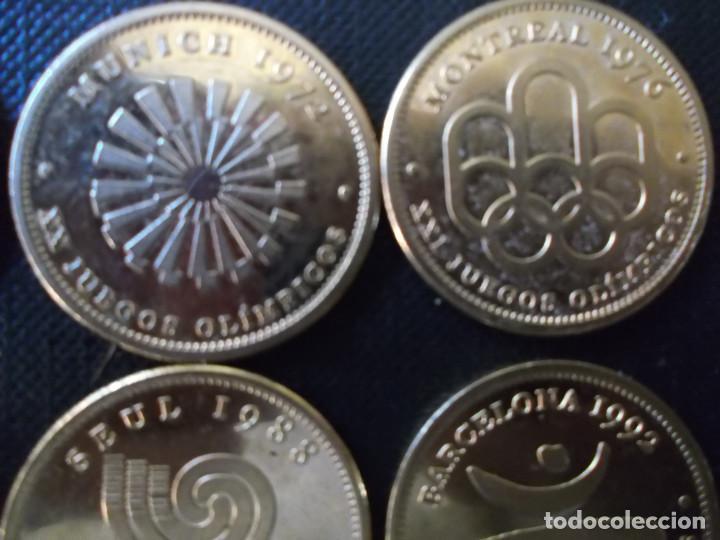 Reproducciones billetes y monedas: coleccion de medallas de diversos juegos Olympicos bañadas en oro nordico Tokyo 64 - Sidney 2000 - Foto 10 - 151693246