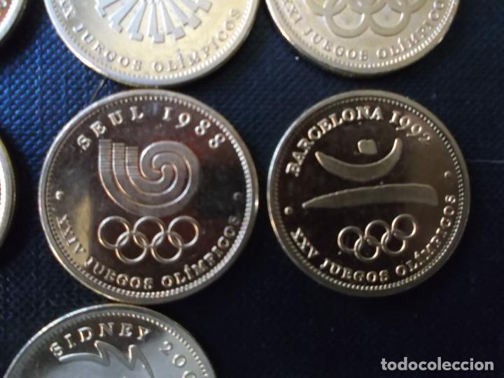 Reproducciones billetes y monedas: coleccion de medallas de diversos juegos Olympicos bañadas en oro nordico Tokyo 64 - Sidney 2000 - Foto 12 - 151693246
