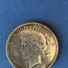 Reproducciones billetes y monedas: MONEDA FALSA DE 1 DOLAR AMERICANO AÑO 1929.. Lote 152653502